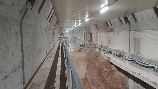 Renovatie Maastunnel